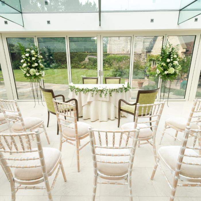 Garden Wedding Venue in Oxfordshire