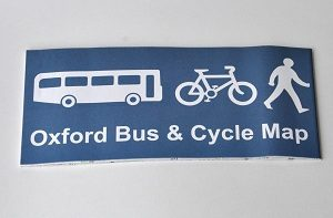 Oxford Bus & Cycle Map