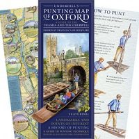 Punting Map of Oxford