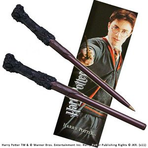 Harry Potter Wand-Pen and Bookmark (Harry Potter Wand-Pen and Bookmark)