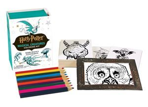 Harry Potter Magical Creatures Colouring Kit