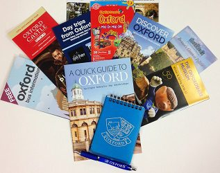 Oxford Welcome Pack: 25 @ £4 each (25 Packs @ £4 each - select how many lots of 25)