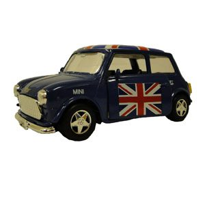 Mini Cooper toy car  (Colour may vary from that shown)