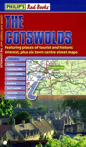 Philip's Red Books The Cotswolds Map