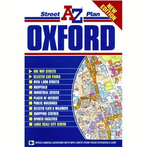A-Z Map of Oxford