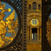 BlenheimPalace-Flagstaff-Gates-East-Courtyard-Clocktower