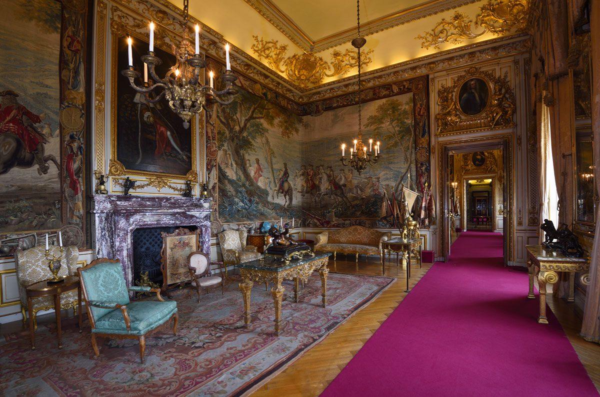 Oxford Castle Living Room