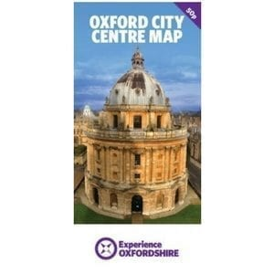 Oxford City Centre Map