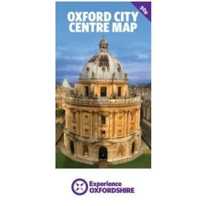Oxford city centre map multibuy or download experience oxfordshire publicscrutiny Choice Image