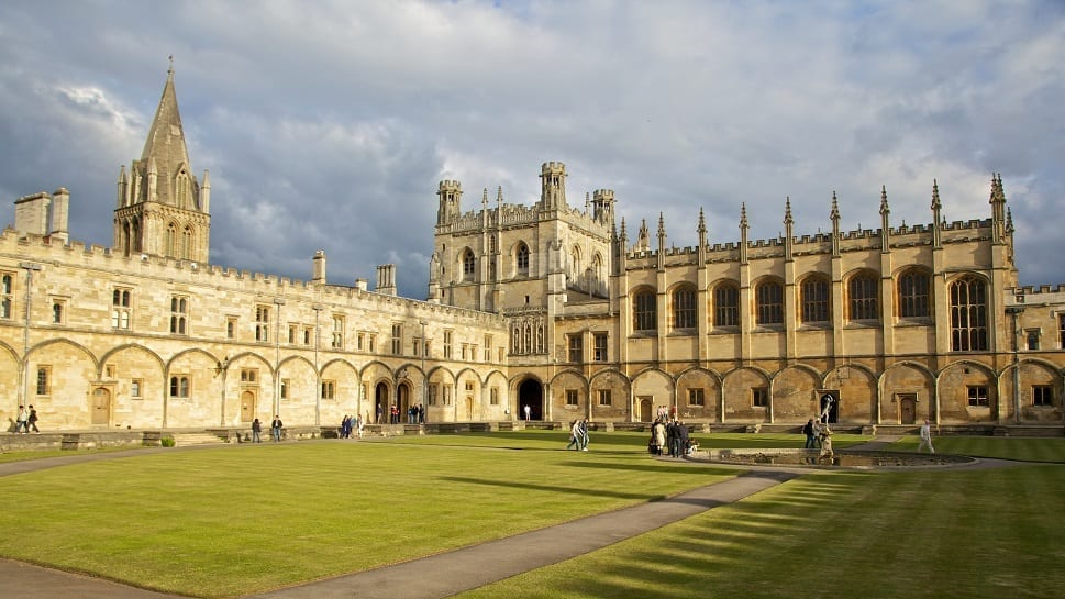 Oxford University At Christ Church Experience Oxfordshire