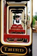 Didcot Railway Centre Guard with vintage carriage 416 ©Great Western Society LTD