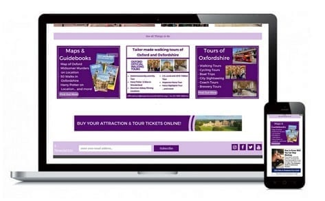Banner advertising Experience Oxfordshire