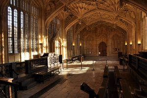 Harry Potter - Infirmary, Bodleian Library, divinity School