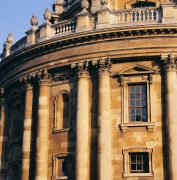 Radcliffe Camera closeup - Copyright Bodleian Libraries, University of Oxford