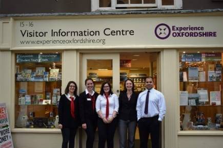 Visitor Information Centre team
