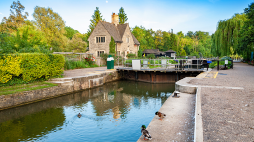 photo of iffley lock oxford