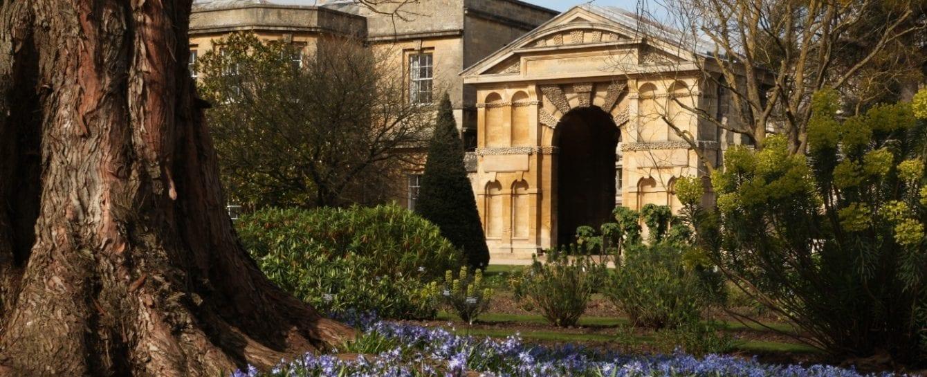 The oxford university parks toilet