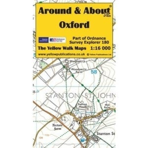 around-about-oxford-map