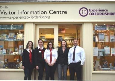 oxford visitor information centre