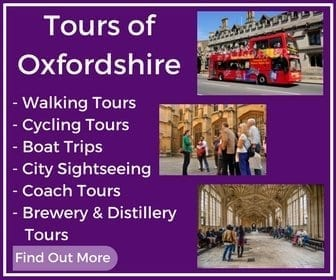 Tours of Oxfordshire