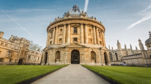 oxford itinerary