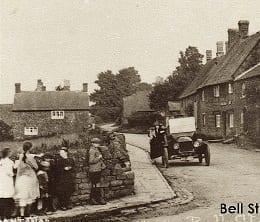 Bell Street Hornton 1920