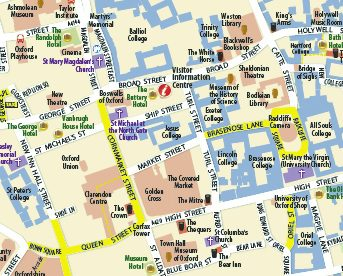 oxford-city-centre-map