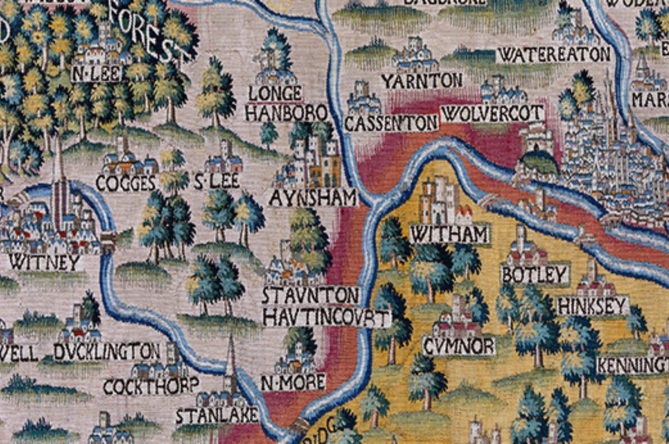 Midsomer england map