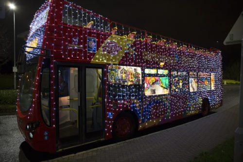 Oxford bus company lights bus tour