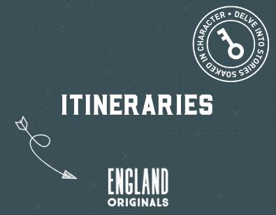 England originals itineraries